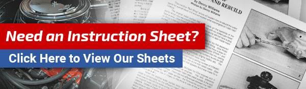 Need an Instruction Sheet