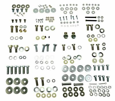 Shafer's Classic - 1959 - 1960 Chevrolet Full Size Convertible Top Bolt Kit