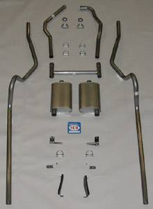 Shafer's Classic - 1955 - 1957 Chevrolet Full Size  Exhaust System