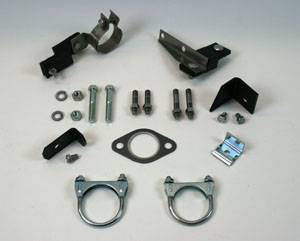 Shafer's Classic - 1956 Chevrolet Full Size 8 cyl. Single Exhaust Clamp And Hanger Kit