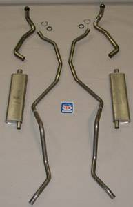 "Shafer's Classic - 1960 - 1962 Chevrolet 348-409 Dual with 2-1/2"" Exhaust System"