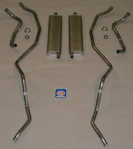 Shafer's Classic - 1960 - 1961 Chevrolet Full Size 8 cyl. 348 Dual Exhaust System