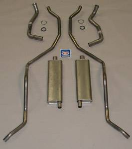 Shafer's Classic - 1962 - 1964 Chevrolet Exhaust System All models except SW