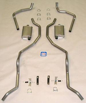 Shafer's Classic - 1962 - 1964 Chevrolet Full Size  Exhaust System