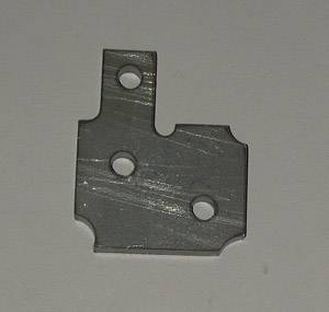 Shafer's Classic - 1955 Chevrolet Full Size Upper Door Hinge Plate