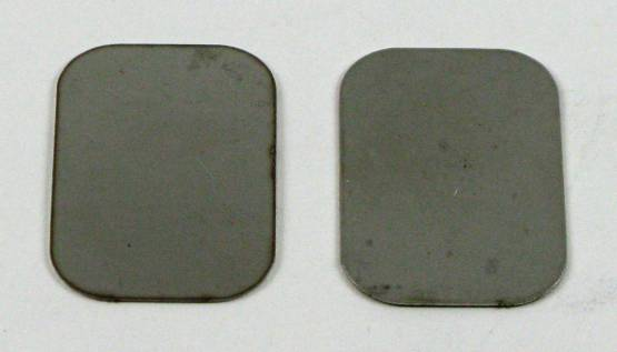 Shafer's Classic - 1956 - 1957 Chevrolet Full Size Exhaust Block Off Plate to Manifold