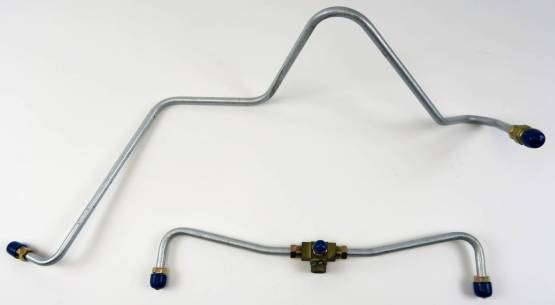 Shafer's Classic - 1959 - 1961 Chevrolet Full Size  Gas Lines (Pump To Carb)