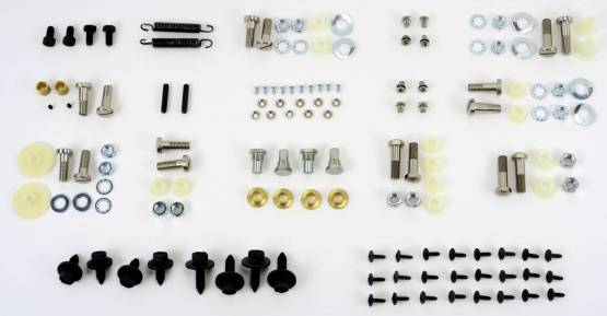 Shafer's Classic - 1964-66 Pontiac GTO And Chevelle Convertible Top Bolt Kit