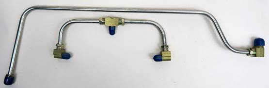 Shafer's Classic - 1959 - 1961 Chevrolet Corvette Gas Lines (Pump To Carb)