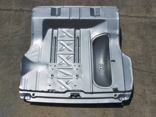 Shafer's Classic - 1955-1957 Chevrolet All Except Convertible Trunk Floor w/ Braces