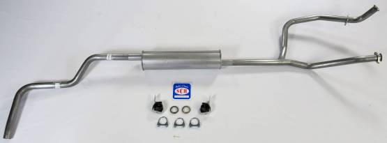 Shafer's Classic - 1966-74 Bronco V8 302 Single Exhaust System