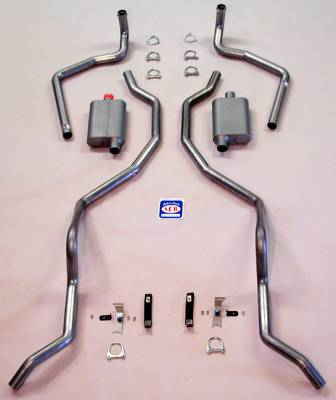 Shafer's Classic - 1960 - 1964 Chevrolet Full Size  Exhaust System