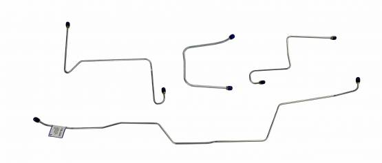 Shafer's Classic - 1966 Full Size Ford Front Brake Line Set