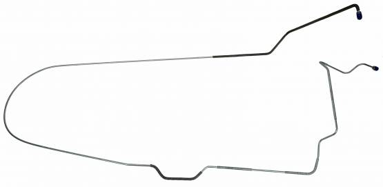 Shafer's Classic - 1971 Ford Mustang  Brake Lines (front To Rear Of Car)