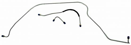 Shafer's Classic - 1955 Full Size Ford Front Brake Line Set, All models standard drum brakes