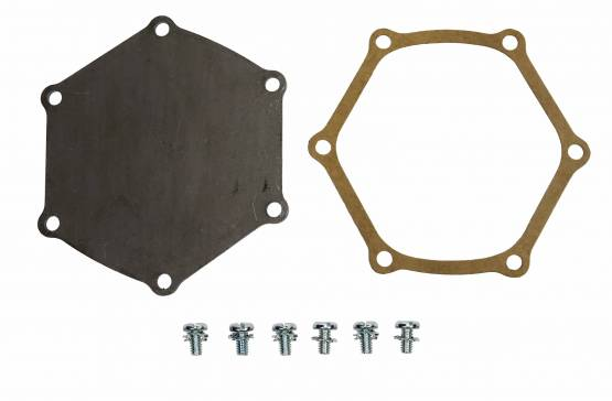 Shafer's Classic - 1955 - 1957 Chevrolet Full Size Water Pump Backing Plate Kit