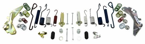 Shafer's Classic - 1964-75 Chevrolet Chevelle Brake Hardware Kit, Rear Only