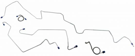 Shafer's Classic - 1971 - 1973 Ford Mustang Front Brake Line Set