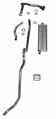 Shafer's Classic - 1957 Chevrolet Full Size Exhaust System