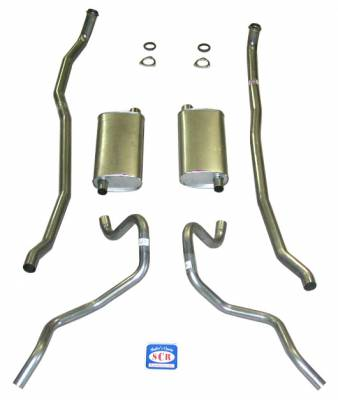 "Shafer's Classic - 1960 - 1962 Chevrolet SW 348-409 Dual with 2-1/2"" Exhaust System"