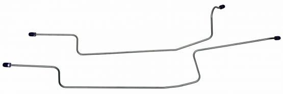 Shafer's Classic - 1984-1986 Ford Mustang Rear End Housing Brake Line