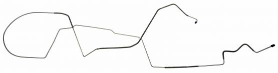 Shafer's Classic - 1984-1986 Ford Mustang Brake Lines (Front to Rear of Car)