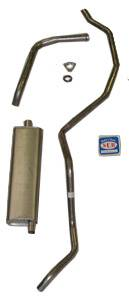 Shafer's Classic - 1960 - 1962 Chevrolet Full Size 6 cyl. Single Exhaust System