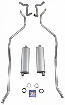 """Shafer's Classic - 1959 El Camino Exhaust System 348 Hi-Perf. with 2-1/2"""" Dual Exhaust"""