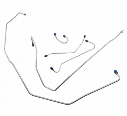 Shafer's Classic - 1955 Chevrolet Full Size Front Brake Line Set