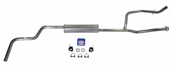Shafer's Classic - 1966-77 Bronco V8 289/302 Single Exhaust System