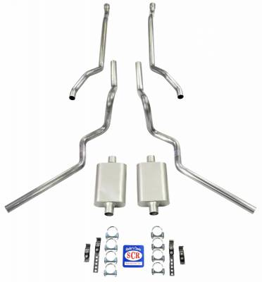 Shafer's Classic - 1963 - 1966 Chevrolet C10 Truck Exhaust System
