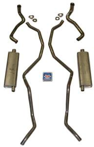 """Shafer's Classic - 1960 - 1962 Chevrolet 348-409 Dual with 2-1/2"""" Exhaust System"""