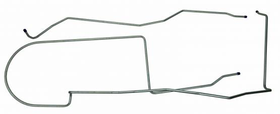 Shafer's Classic - 1968 - 1970 Ford Mustang  Long Gas Lines, Pump To Tank