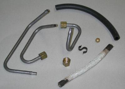 Engine - Choke-Heat Riser Tubes & Related Parts - Shafer's Classic - 1970 - 1973 Ford Mustang  Choke-Heat Riser Tube