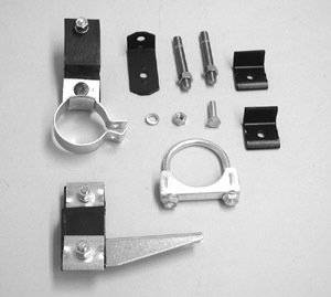 Exhaust - Clamp and Hanger Kits - Shafer's Classic - 1956 Chevrolet Full Size 6 cyl. Clamp And Hanger Kit