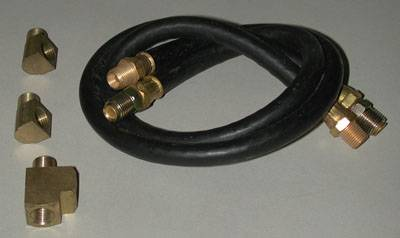 Engine - Engine Related Parts - Shafer's Classic - 1955 - 1964 Chevrolet Full Size Oil Filter Hose