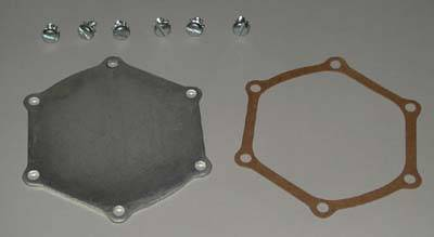 Engine - Engine Related Parts - Shafer's Classic - 1955 - 1957 Chevrolet Full Size Water Pump Backing Plate Kit