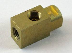 Brakes - Brake Related Parts - Shafer's Classic - 1959-1964 Chevrolet Full Size Brass Junction Block