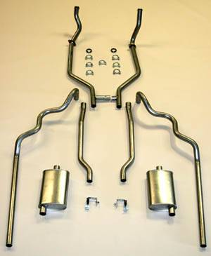 Shafer's Classic - 1963-64 Full Size Ford 352 and 390 CID Dual Exhaust System