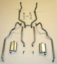 Shafer's Classic - 1963-64 Full Size Ford 352 and 390 CID Dual Turbo Exhaust System