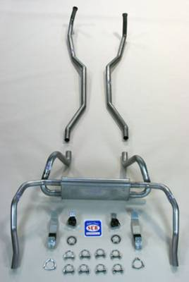 """Exhaust - Exhaust Systems - Complete - Shafer's Classic - 1969 Chevrolet Camaro 2"""" Exhaust System"""