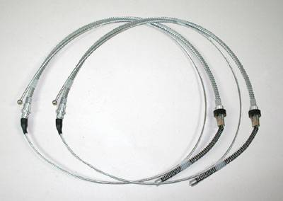 Brakes - Parking Brake Parts - Shafer's Classic - 1963-64 Full Size Ford Parking Brake Cable, Pair