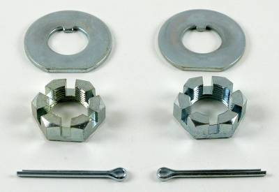 Brakes - Conversion Components - Shafer's Classic - 1955 - 1968 Chevrolet Full Size Spindle Nut And Washer Kit