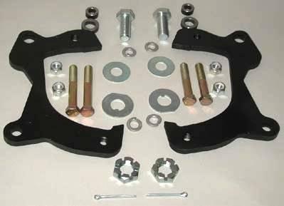 Brakes - Conversion Components - Shafer's Classic - 1959 - 1964 Chevrolet Full Size Caliper Bracket Kit