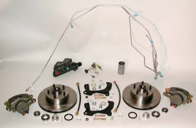 Brakes - Front Disc Brake Conversion Kits, Manual