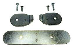 Body Parts - Interior Parts - Shafer's Classic - 1956 - 1957 Chevrolet Full Size Seat Stop Plate