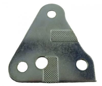 Body Parts - Convertible Related Parts - Shafer's Classic - 1955 - 1957 Chevrolet Full Size Right Rear Quarter Window Adjusting Plate