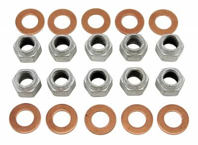 Suspension - Rear End Housing - Shafer's Classic - 1964 - 1967 Ford Mustang and 1957-67 Full Size Ford Rear Housing Differential Nuts & Washers