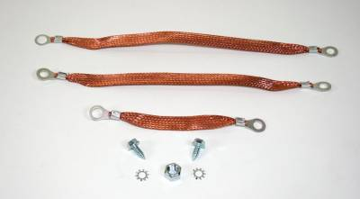Engine - Engine Related Parts - Shafer's Classic - 1955 - 1957 Chevrolet Full Size Ground Strap Kit