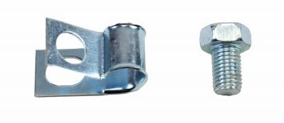 Engine - Gas Line Clips - Shafer's Classic - 1956 - 1957 Chevrolet Full Size  Long Gas Line Clip